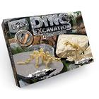 """Набор для проведения раскопок серия """"DINO EXCAVATION"""" динозаврики: стегозавр, тираннозавр"""