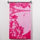 Полотенце махровое Rendezvous ПЛ-2602-3136, 50х90 см, цв. 10000, розовый,  420 г/м, 100% хл.   30147