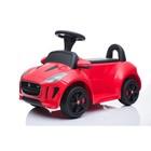 Электромобиль JAGUAR F-TYPE, цвет красный
