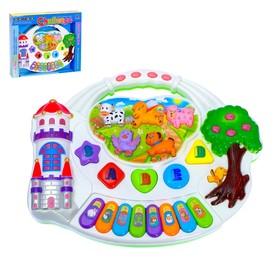 Музыкальная игрушка-ионика «Замок», световые и звуковые эффекты
