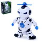 Робот «Танцор», ездит, произвольное движение, световые и звуковые эффекты, работает от батареек