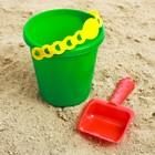 Набор  для игры в песке №54 ( Ведёрко + лопатка)
