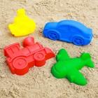 Набор для игры в песке №69: 4 формочки