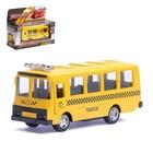 Автобус металлический «Автобус-такси», инерционный, масштаб 1:61