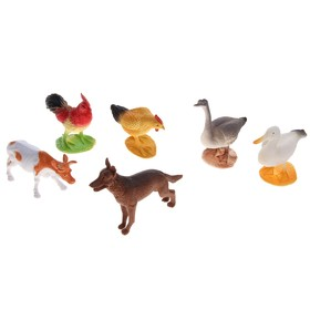 Набор животных «Зелёная ферма», 6 фигурок