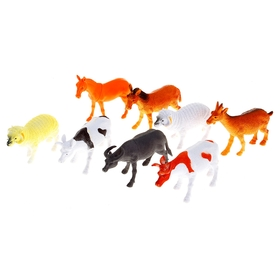 Набор животных «Ферма», 8 фигурок