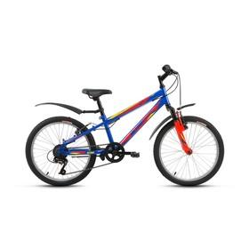 "Велосипед 20"" Altair MTB HT 20 2.0, 2018, цвет тёмно-синий, размер 10,5"""
