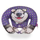 """Мягкая игрушка-антистресс """"Аляска в пижаме"""", цвет фиолетовый"""