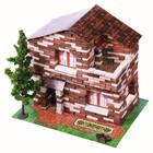 Конструктор из кирпичиков «Дачный дом», 650 деталей