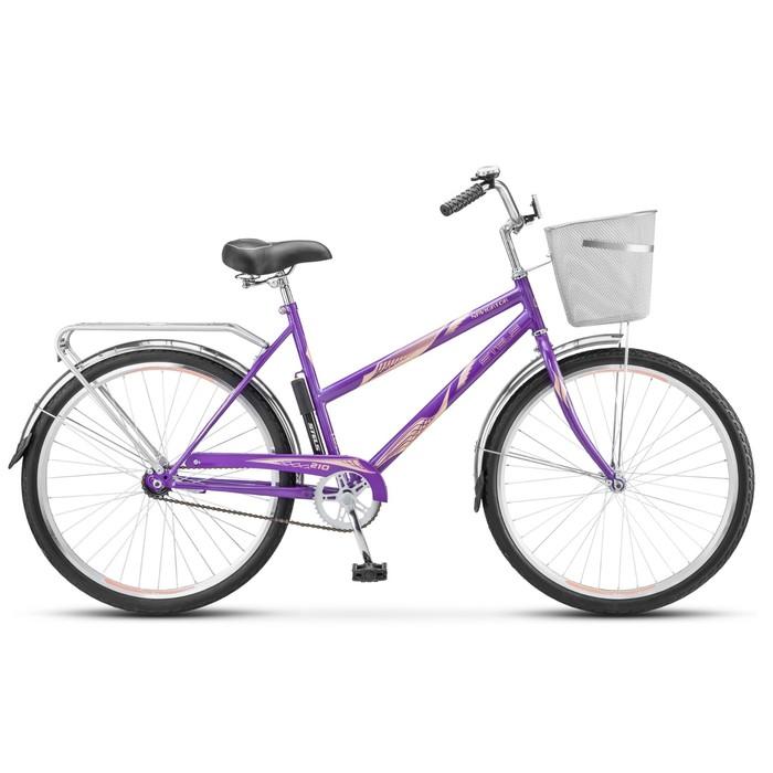 Велосипед 26 Stels Navigator-210 Lady, Z010, цвет фиалковый, размер 19