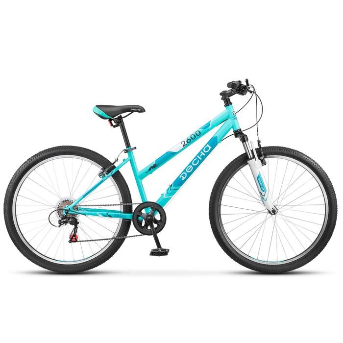 Велосипед 26 Десна-2600, V020, цвет бирюзовый, размер 15