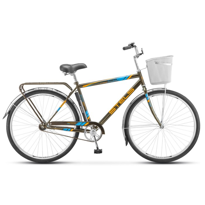 Велосипед 28 Stels Navigator-300 Gent, Z010, цвет хаки, размер 20