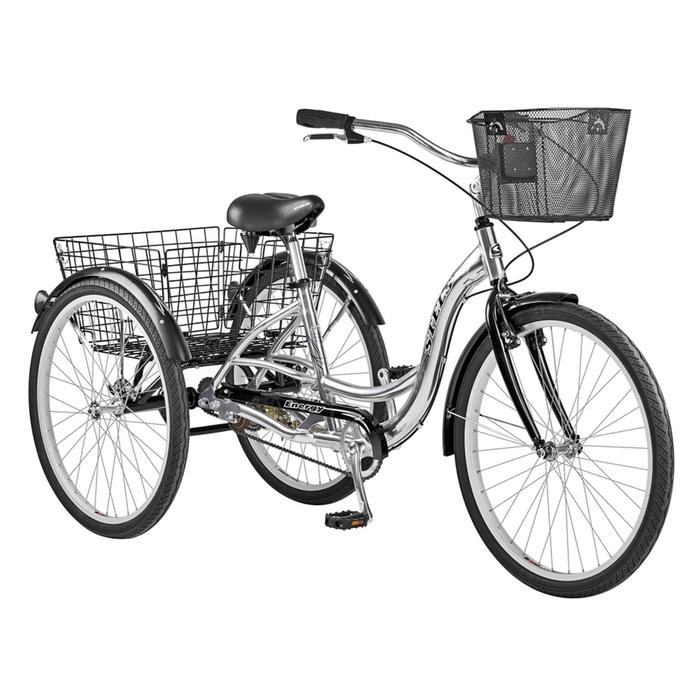 Велосипед 26 Stels Energy-I, V030, цвет серый/чёрный, размер 16