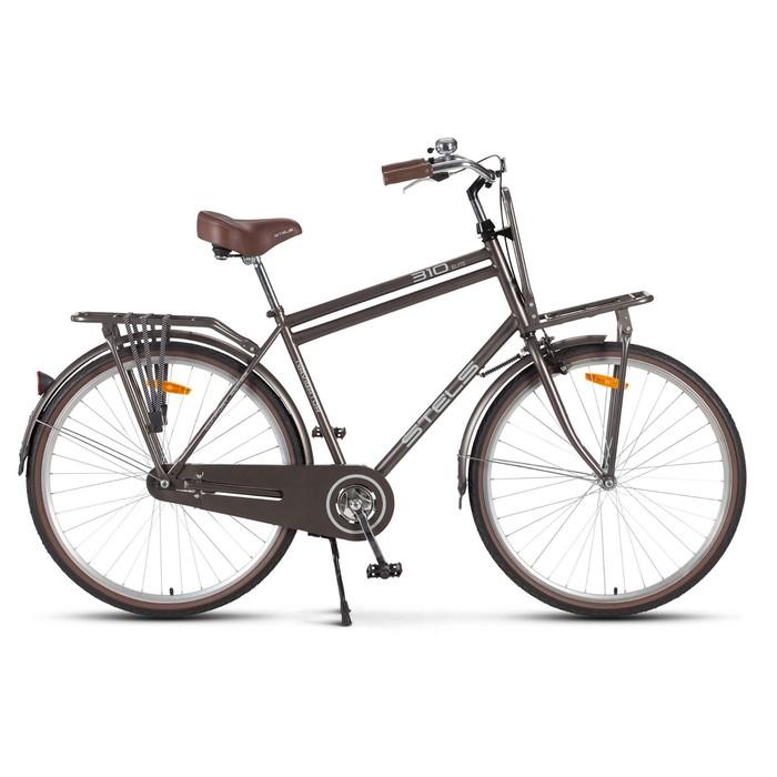 Велосипед 28 Stels Navigator-310 Gent, V020, цвет коричневый, размер 21
