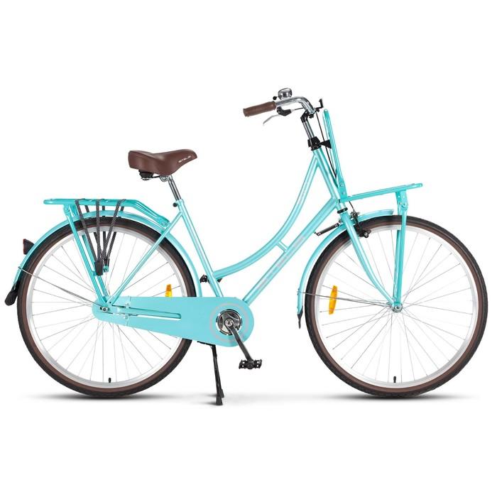 Велосипед 28 Stels Navigator-310 Lady, V020, цвет светло-зелёный, размер 20
