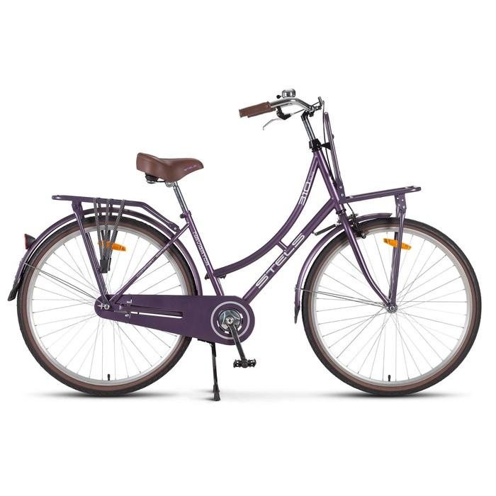 Велосипед 28 Stels Navigator-310 Lady, V020, цвет фиолетовый, размер 18