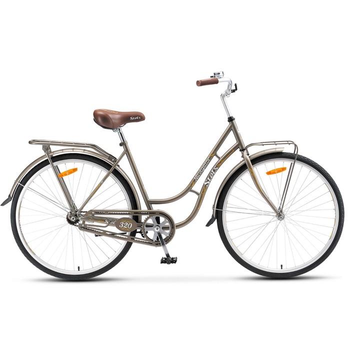 Велосипед 28 Stels Navigator-320, V020, цвет серый, размер 19,5