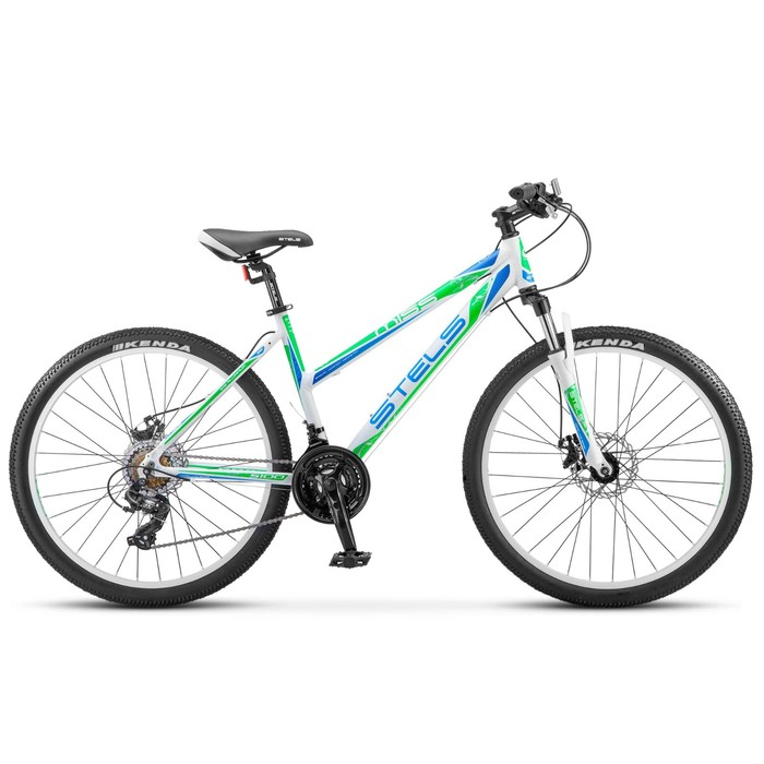 Велосипед 26 Stels Miss-5100 MD, V030, цвет белый/зелёный, размер 15