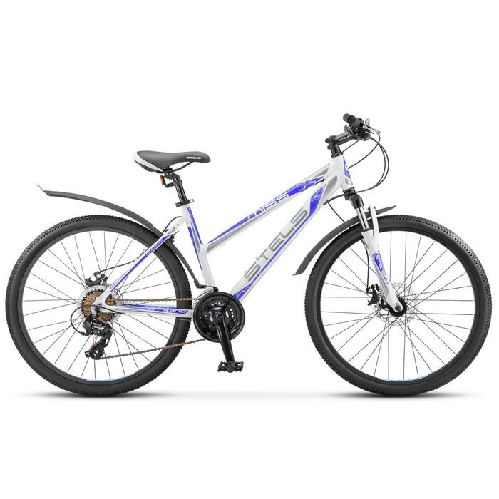 Велосипед 26 Stels Miss-5300 MD, V030, цвет белый/фиолетовый, размер 15