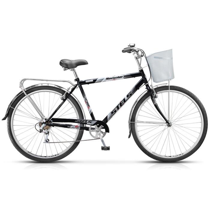Велосипед 28 Stels Navigator-350 Gent, Z010, цвет чёрный, размер 20