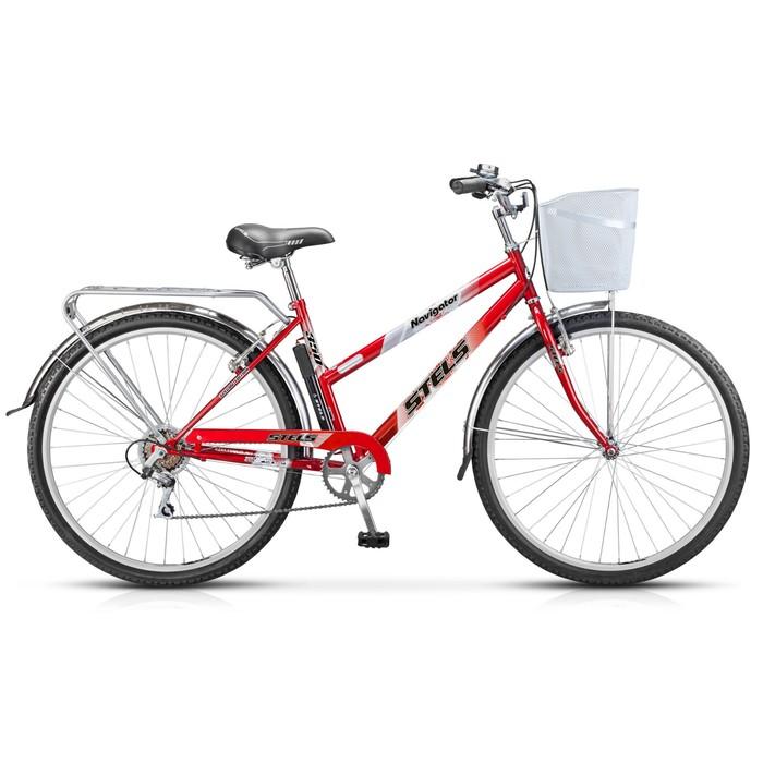 Велосипед 28 Stels Navigator-350 Lady, Z010, цвет красный, размер 20