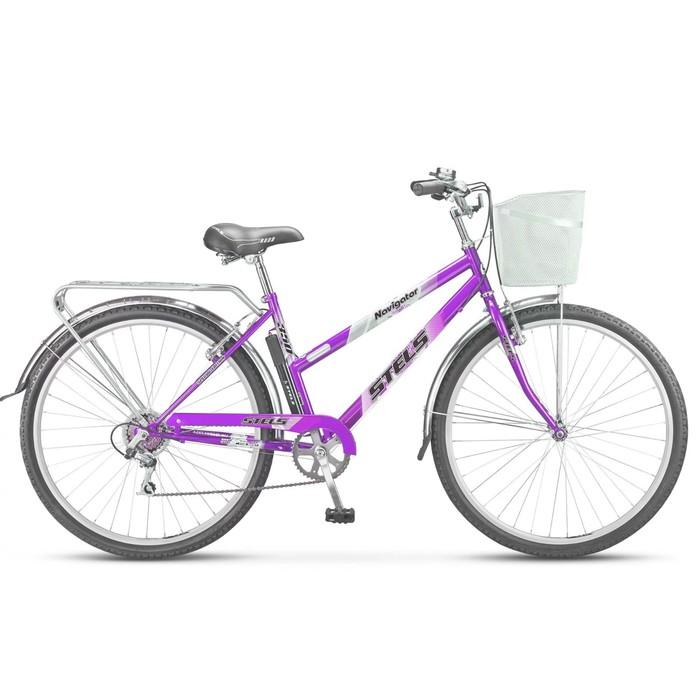 Велосипед 28 Stels Navigator-350 Lady, Z010, цвет фиолетовый, размер 20