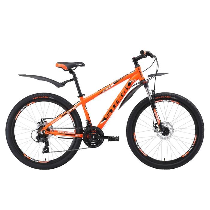 Велосипед 26 Stark Indy 2 D, 2018, цвет оранжевый/чёрный/белый, размер 18