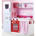 """Детская игровая мебель из дерева """"Кухня"""" розовая"""