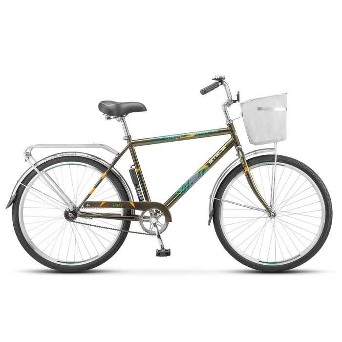 Велосипед 26 Stels Navigator-210 Gent, Z010, цвет хаки, размер 19