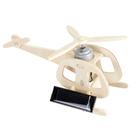 3D-пазл «Вертолёт», двигатель на солнечной батарее