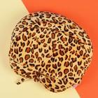 Антистресс-подголовник «Леопард» с капюшоном
