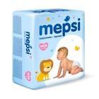 Детские подгузники-трусики Mepsi размер M (6-11 кг), 58 шт.