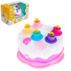 Музыкальная игрушка «Праздничный торт», световые и звуковые эффекты