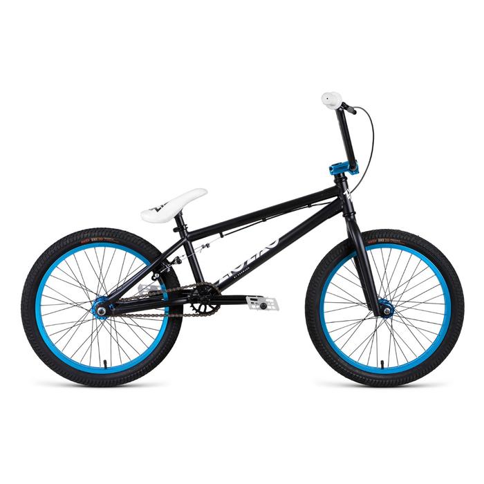 Велосипед 20 Forward BMX ZIGZAG 1.0, 2018, цвет черный, размер 20,5