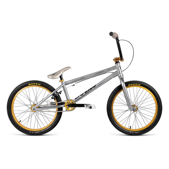 Велосипед 20 Forward BMX ZIGZAG 2.0, 2018, цвет хром, размер 20,5