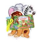 Карточки на шнурке «Дикие животные»