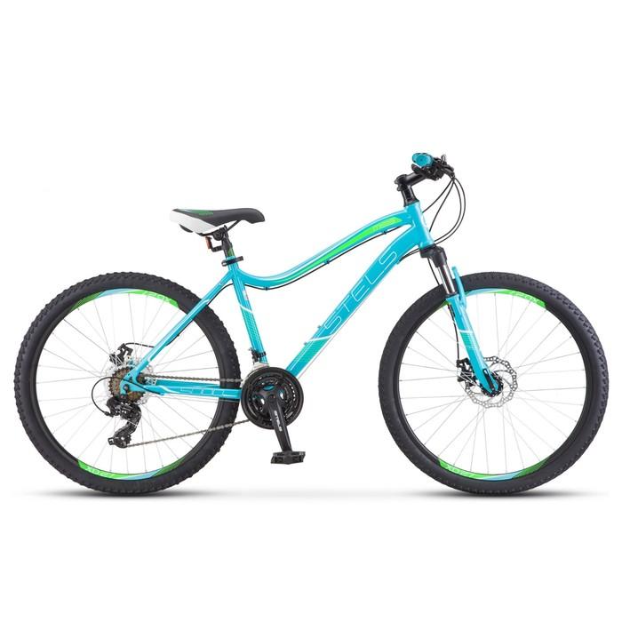 Велосипед 26 Stels Miss-5000 MD, V010, цвет бирюзовый, размер 15