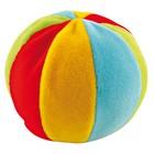 Игрушка мягкая с погремушкой - мячик, 0+