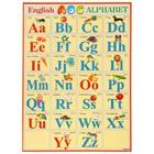 "Плакат ""ENGLISH ALPHABET"", А2"