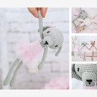 Амигуруми: Мягкая игрушка «Собачка Санни», набор для вязания, 10 × 4 × 14 см