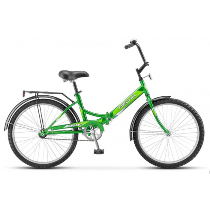 Велосипед 24 Десна-2500, Z010, цвет зелёный, размер 14