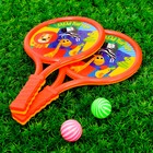 Набор ракеток «Давай поиграем», мячики