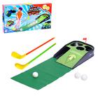 Мини гольф «Чемпион», световые и звуковые эффекты, работает от батареек