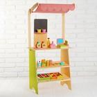 """Игровой набор """"Играем в магазин"""", деревянные продукты в наборе   MSN15033"""