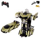 """Робот радиоуправляемый""""Автобот"""",трансформируется,с аккумулятором,масштаб 1:16 МИКС в пакете"""