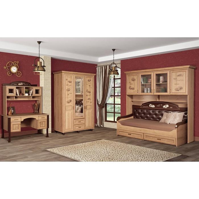 Комплект мебели для детской Ралли 2, 5065х970х2140 мм, цвет дуб ридинг