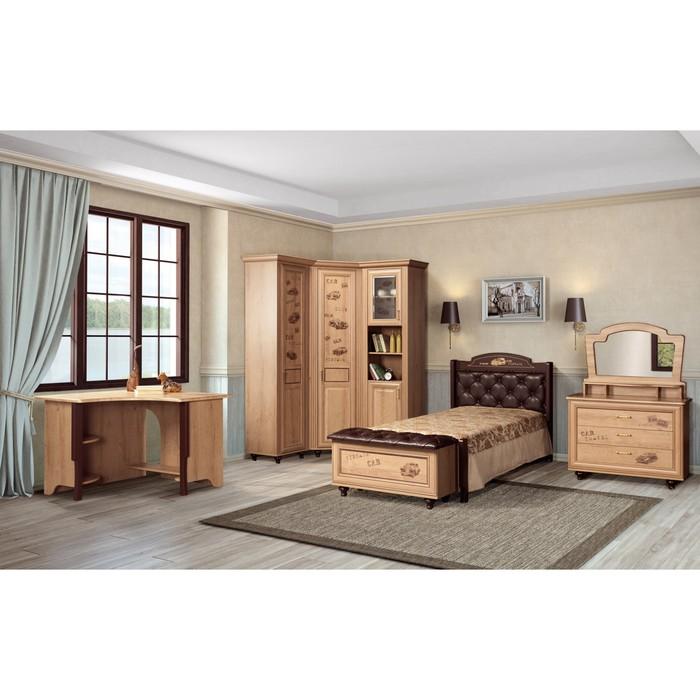 Комплект мебели для детской Ралли 3, 5362х1050х2190 мм, цвет дуб ридинг