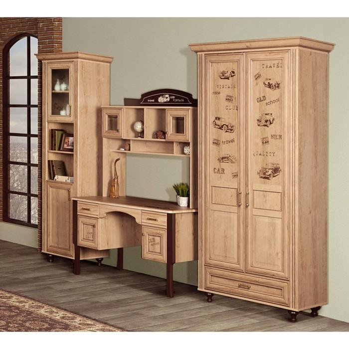 Комплект мебели для детской Ралли 4, 3020х680х2140 мм, цвет дуб ридинг