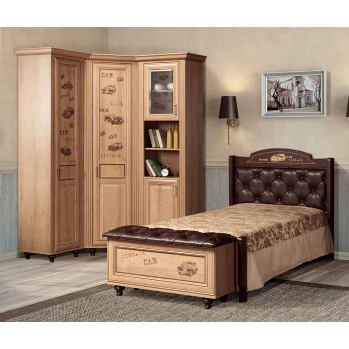 Комплект мебели для детской Ралли 5, 3972х1054х2190 мм, цвет дуб ридинг