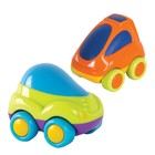 Машинка зеленая и оранжевая, 2 шт